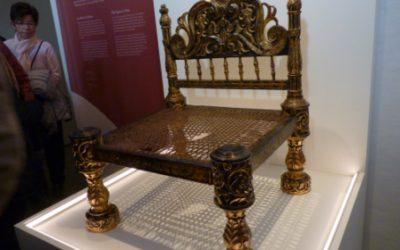 Visita a l'exposició Les dones també seuen