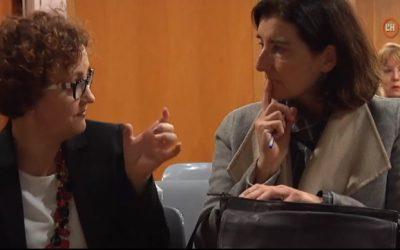 Xerrada de Mònica Piera i Sonia Álvarez en el Dia de la Dona, publicada per la televisió de l'Hospitalet (01/03/18)