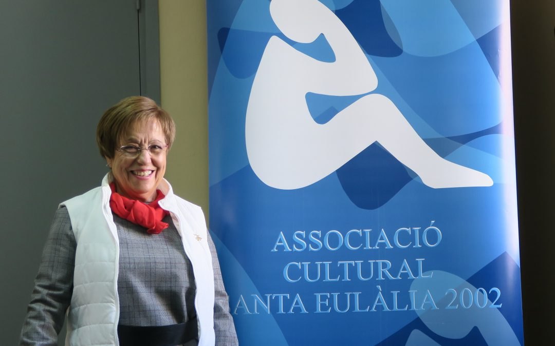 La Alcaldessa ens va venir a visitar a ACSE